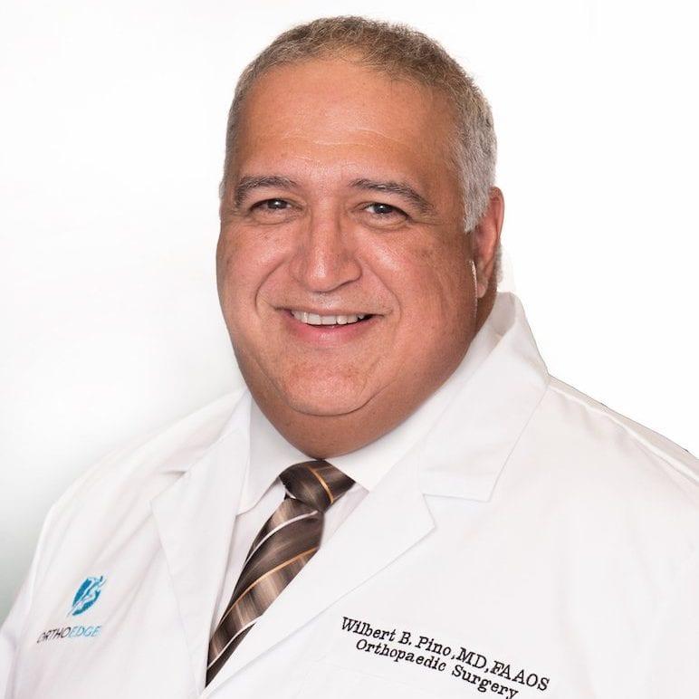 headshot Dr. Wilbert Pino